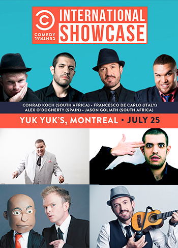 Comedy Central's International Showcase